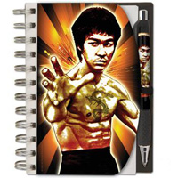 Bruce Lee Notepad & Pen Set