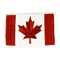 Canadian Flag Patch - 4