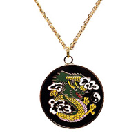Dragon Multi Color Medallion