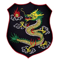Dragon Shield Jacket Patch - 9-3/8
