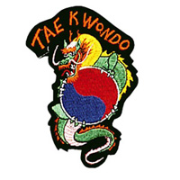 Dragon / Tae Kwon Do Patch - 4
