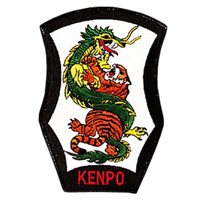 Dragon & Tiger - Kenpo Patch - 4
