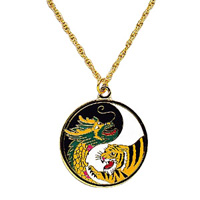 Dragon Tiger Medallion
