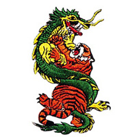 Dragon and Tiger Patch - 4