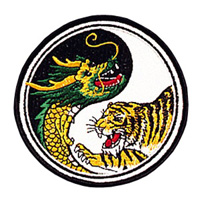 Dragon & Tiger/ Yin & Yang Patch - 4