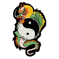 Dragon / Yin & Yang Patch - 4