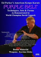 American Kenpo Karate - Purple Belt Instructional