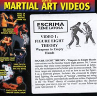Escrima, Video 1 - Figure Eight Theory Weapons to Empty Hands