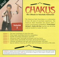 Chakus: The Ultimate in Nunchaku Instruction, Volume 2