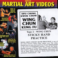 Wing Chun Kung Fu - Tape 2: Wing Chun Sticky Hand Practice
