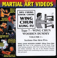 Wing Chun Kung Fu - Tape 7: Wing Chun Wooden Dummy, Volume 1: Sections One thru Five