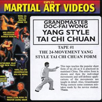 Yang Style Tai Chi Chuan - Tape 1: The 24-Movement Yang Style Tai Chi Chuan Form