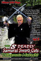 The 8 Deadly Samurai Sword Cuts of Miyamoto Musashi: Niten Ichi Ryu, Volume 1