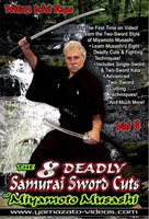 The 8 Deadly Samurai Sword Cuts of Miyamoto Musashi: Niten Ichi Ryu, Volume 3