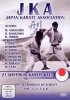 Japan Karate Association: 21 Shotokan Karate Kata - The Techniques of Karate, Volume 3, 4, 5 & 6