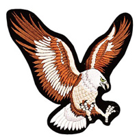Eagle Jacket Patch - 4