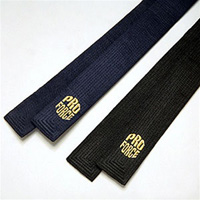 ProForce Embroidered Satin Martial Arts Belts