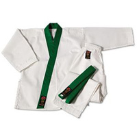ProForce Gladiator 7.5oz GUP Trimmed Tang Soo Do Uniform