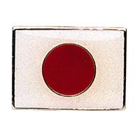 Japanese Flag Pin