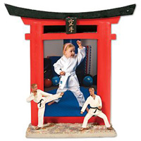 Karate Resin Picture Frame
