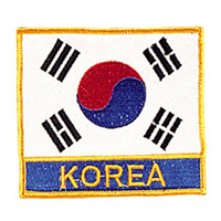 Korea Flag / Korea Patch - 4