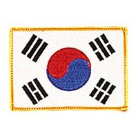 Korea - Gold Border Patch - 4