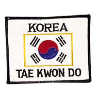 Korea - Tae Kwon Do Patch - 4