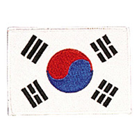 Korea - White Border Patch - 4
