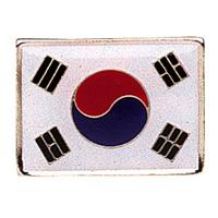 Korean Flag Pin