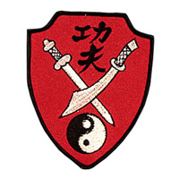 Kung Fu Swords Patch - 3-1/2