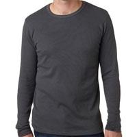 Men's Long Sleeve Thermal - Dark Grey