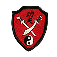 Mini Kung Fu Swords Patch - 1-3/4