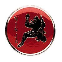 Ninja Red / Silver Pin