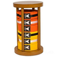 Round Stacker Belt Display - 6 Level