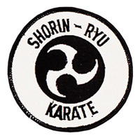 Shorin-Ryu Karate Patch - 4