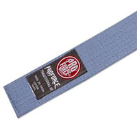 ProForce Solid Double Wrap Martial Arts Belts - Light Blue