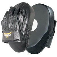 ProForce Thunder Curved Leather Focus Mitt