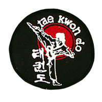 Tae Kwon Do Sidekick Patch - 4