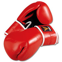 ProForce Thunder Boxing Gloves - Red / Black