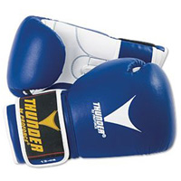 ProForce Thunder Leatherette Boxing Gloves with Vented Gloves