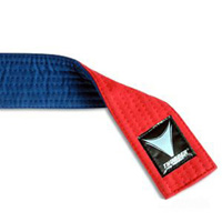 ProForce Thunder Red & Blue Martial Arts Belts