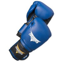 ProForce Thunder Vinyl Boxing Gloves - Metallic Blue
