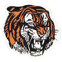 Tiger Head Patch - 4