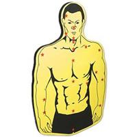 Torso Target Board - Yellow