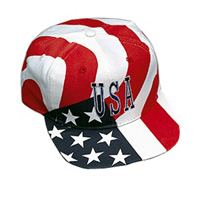 USA Flag Baseball Hat