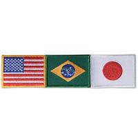 USA / Brazil / Japan Patch - Small - 6