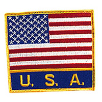 USA Flag / USA Patch  - 4
