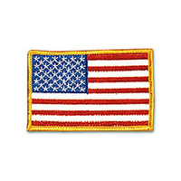 USA - Gold Border Patch - 4