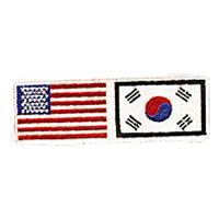 USA / Korea Patch - 4