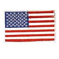 USA - White Border Patch  - 4